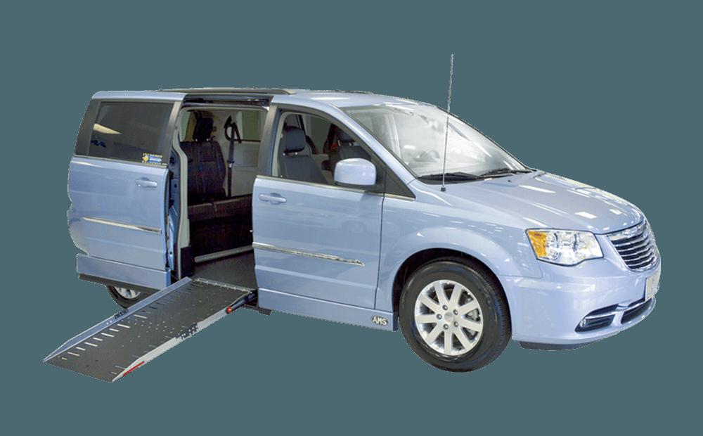 Chrysler side entry handicap van