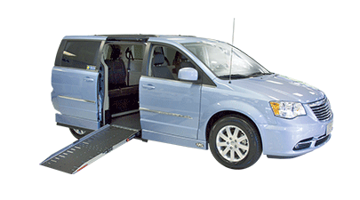 Chrysler side entry handicap van