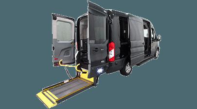 Ford Transit handicap van