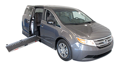 Honda side entry handicap van