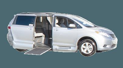 Toyota handicap van conversions