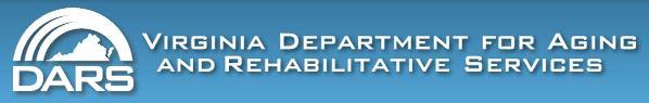virginia department aging rehabilitative services DARS logo